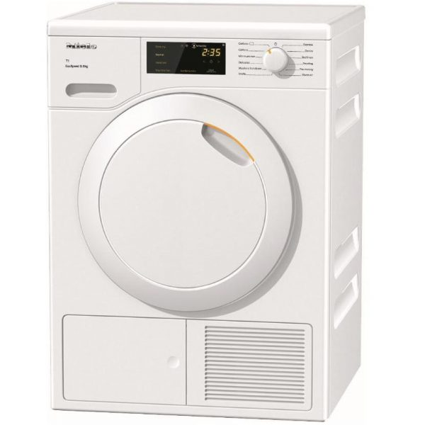 Miele TCB140WP 7KG HeatPump Tumble Dryer With Perfect Dry