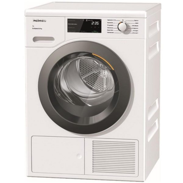 Miele TCF640WP 8KG HeatPump Tumble Dryer With Perfect Dry