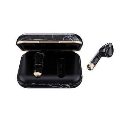 Happy Plugs Air 1 Bluetooth Headphones - Black Marble