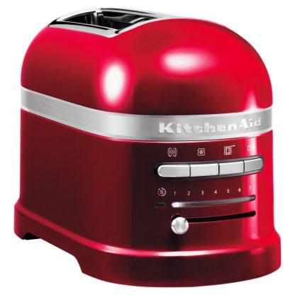KitchenAid 5KMT2204BCA Artisan 2 Slice Toaster - Candy Apple