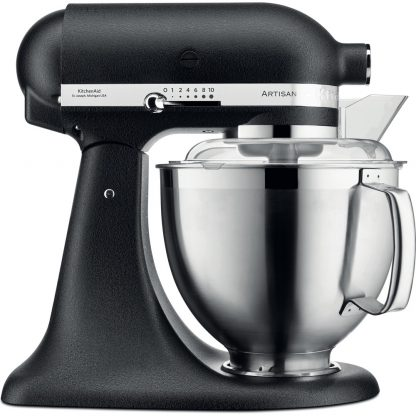 KitchenAid 5KSM185PSBBK Artisan 185 Stand Mixer - Cast Iron Black