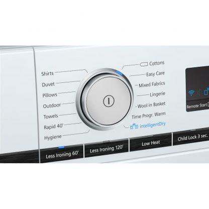 Siemens WT48XRH9GB iQ500 9kg Heat Pump Tumble Dryer