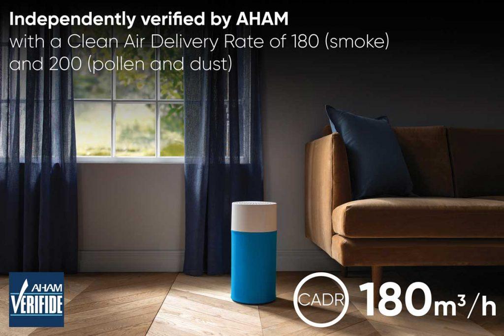 Blue air 411 Air Purifier quiet mark