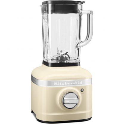 KitchenAid 5KSB4026BAC K400 Glass Jar Blender - Almond Cream