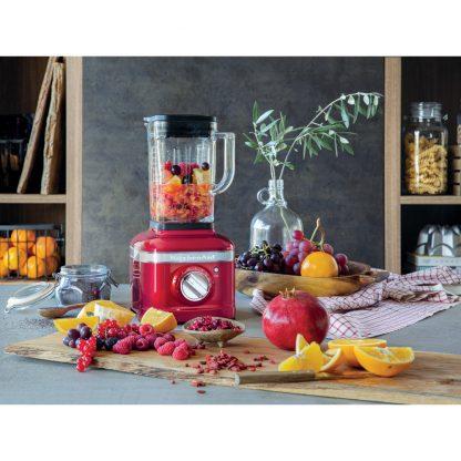 KitchenAid 5KSB4026BCA K400 Glass Jar Blender - Candy Apple
