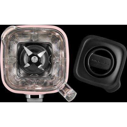 KitchenAid 5KSB4026BSP K400 Glass Jar Blender - Silk Pink