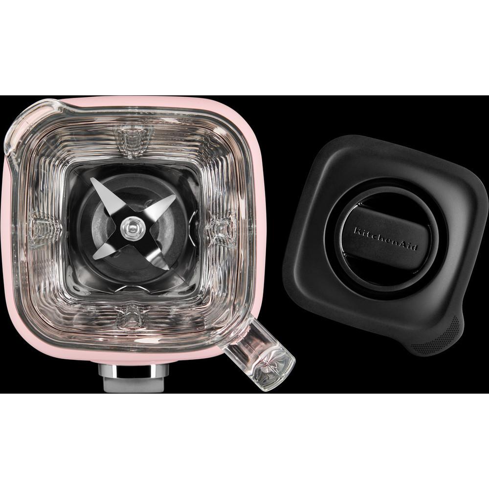 Kitchenaid 5ksb4026bsp K400 Glass Jar Blender Silk Pink