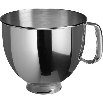 KitchenAid 5K5THSBP 4.8 Litre Stanless Steel Bowl with Handle for Stand Mixer
