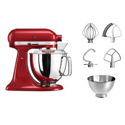 KitchenAid Artisan Stand Mixer - Empire Red 5KSM175PSBER