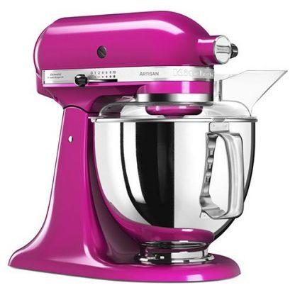 KitchenAid 5KSM175PSBRI Artisan Stand Mixer - Raspberry Ice
