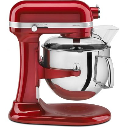 KitchenAid 5KSM7580XBCA Artisan 6.9L Bowl Lift Stand Mixer - Candy Apple
