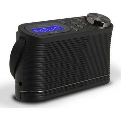 Roberts Radio PLAY10 Portable DAB Radio with DAB+ Black