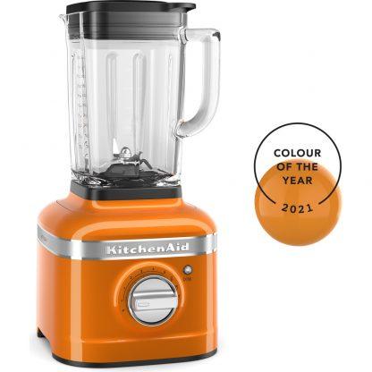 KitchenAid K400 Glass Jar Blender 5KSB4026BHY - Honey
