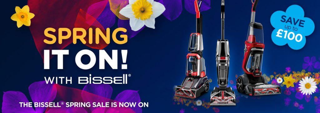 Bissell floorcare Spring Sale