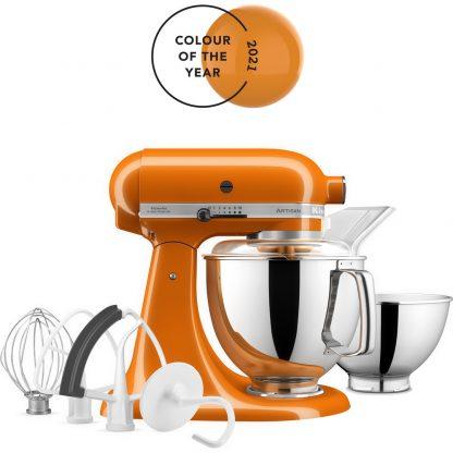 KitchenAid 5KSM175PSBHY Artisan 175 Stand Mixer - Honey
