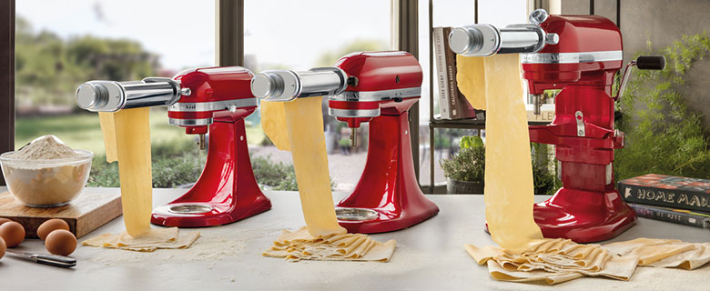 KitchenAid: Perfect for Preparing Pasta