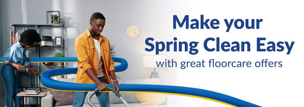 Floorcare spring savings