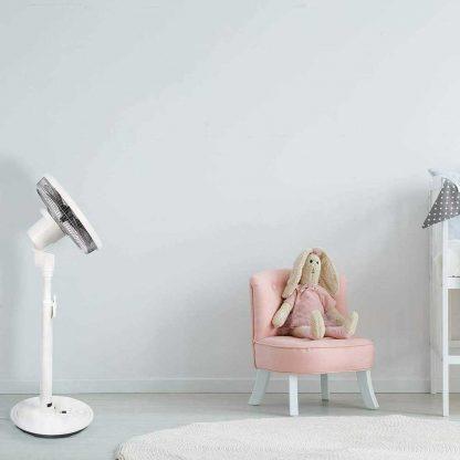 NSA SFDC-30213RC Ultra Quiet Touch Safe Intelligent Pedestal Fan